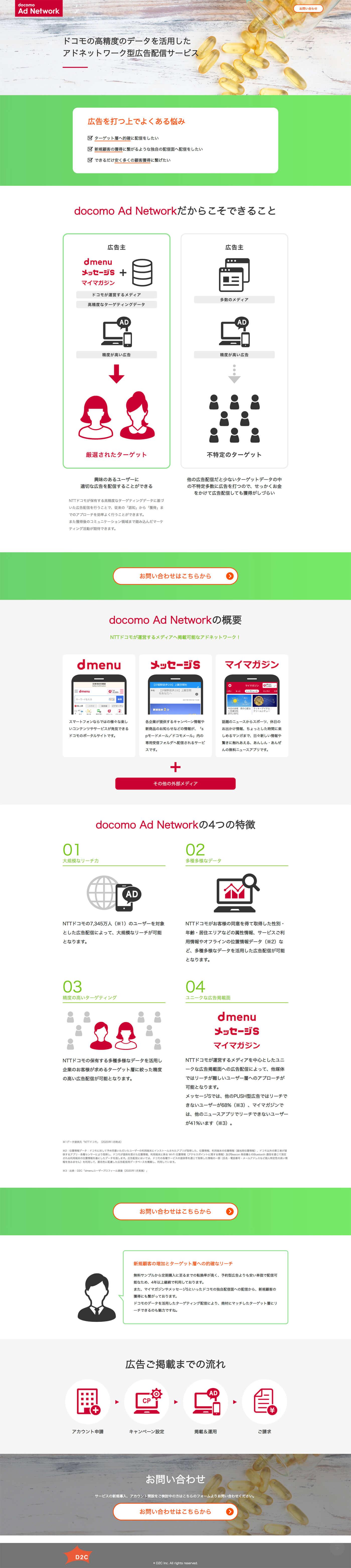 docomo Ad Network